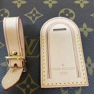 NEW Louis Vuitton Luggage Tag from Melie Hobo